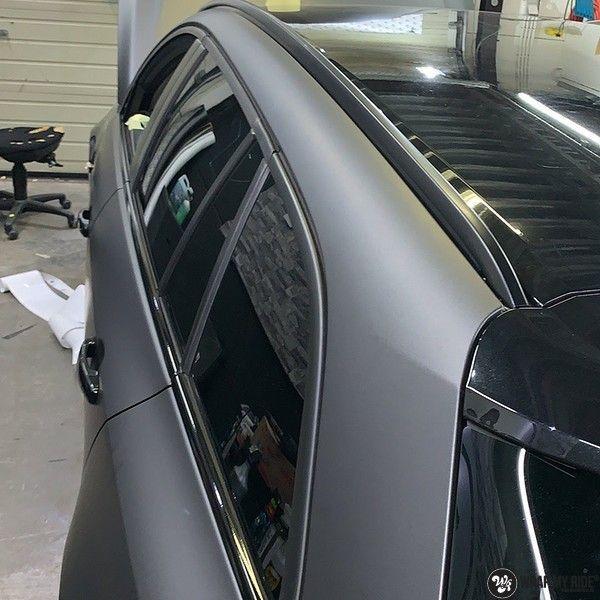 opel insignia matte dark grey, Carwrapping door Wrapmyride.nu Foto-nr:12619, ©2019
