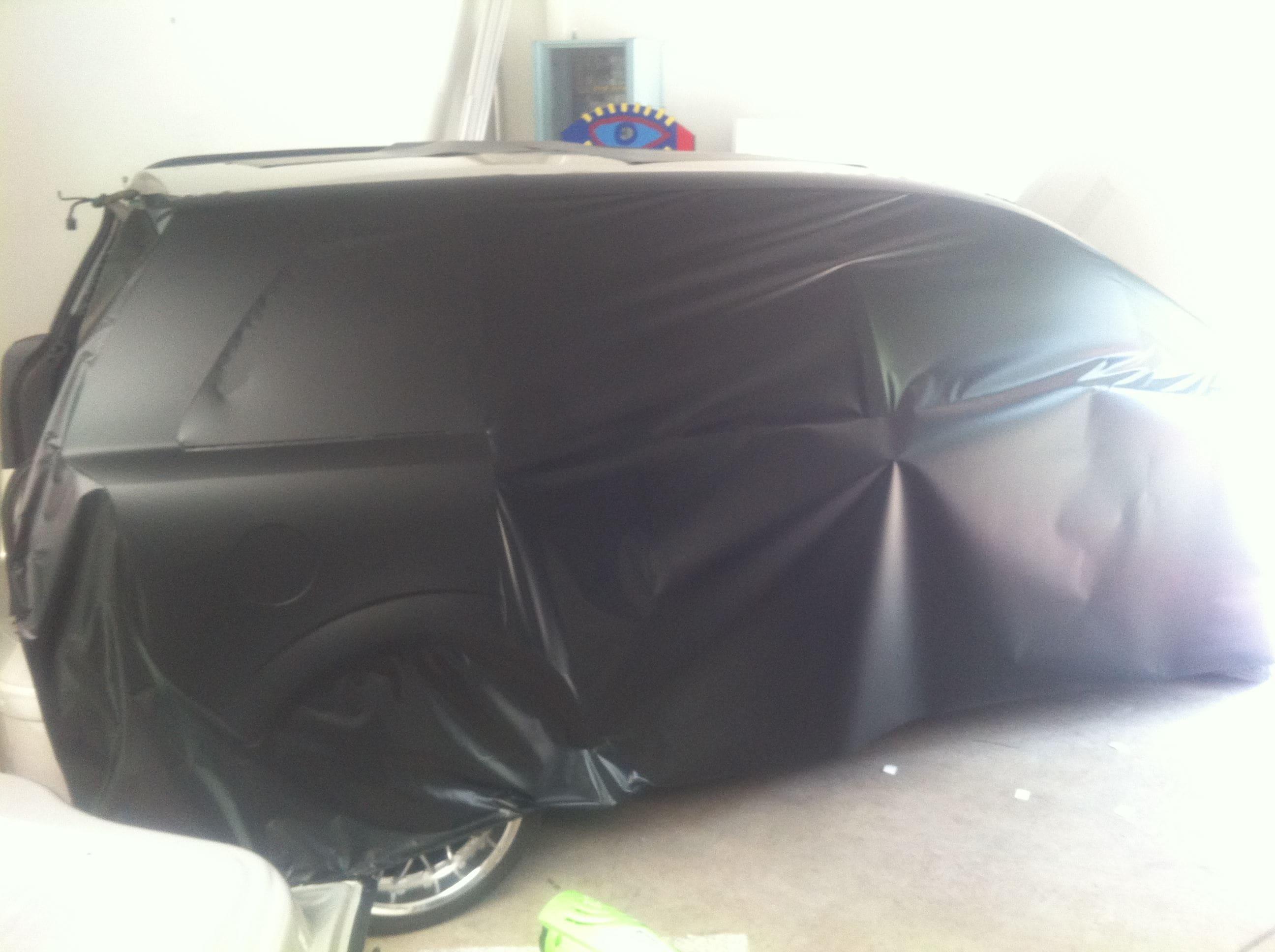 Opel Zafira met Two-Tone Wrap, Carwrapping door Wrapmyride.nu Foto-nr:6664, ©2021