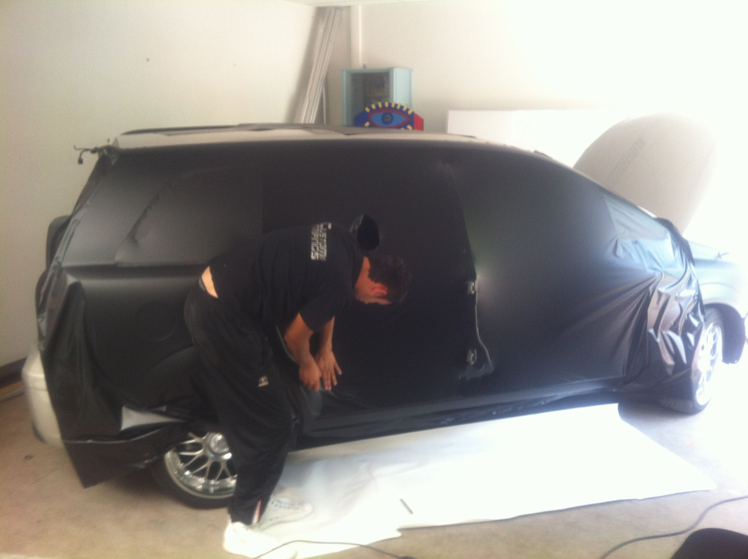 Opel Zafira met Two-Tone Wrap, Carwrapping door Wrapmyride.nu Foto-nr:6665, ©2021