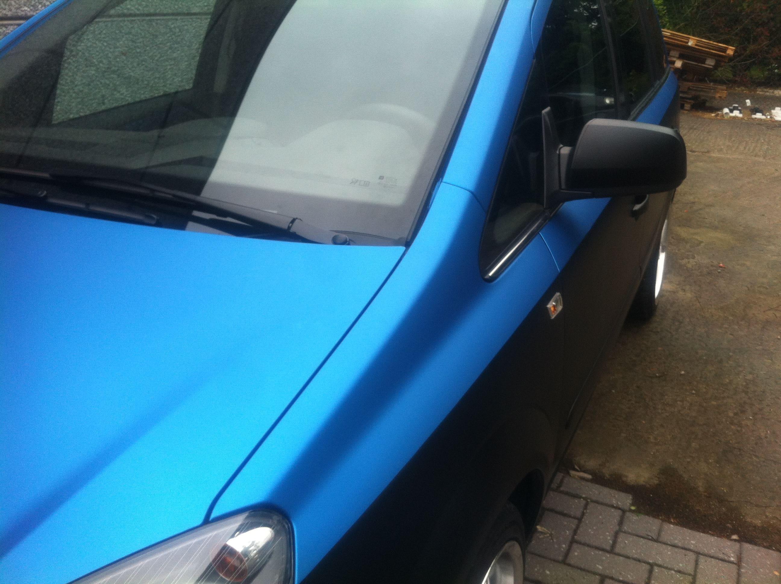 Opel Zafira met Two-Tone Wrap, Carwrapping door Wrapmyride.nu Foto-nr:6668, ©2021