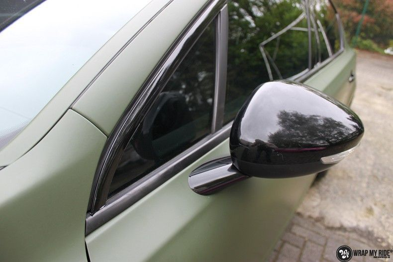 Peugeot 508 3m matte military green, Carwrapping door Wrapmyride.nu Foto-nr:11382, ©2021