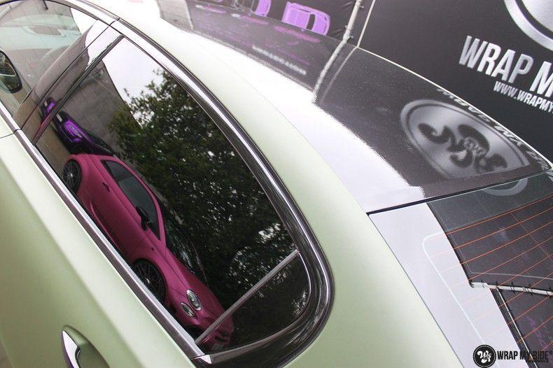 Peugeot 508 3m matte military green, Carwrapping door Wrapmyride.nu Foto-nr:11378, ©2021