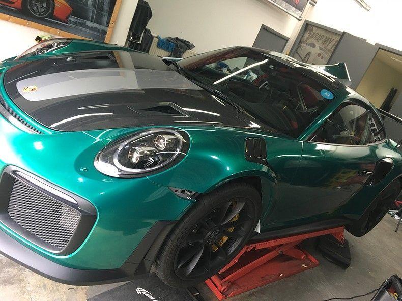 Porsche 911 GT2RS ASW Dark Grey Pearl, Carwrapping door Wrapmyride.nu Foto-nr:12233, ©2019