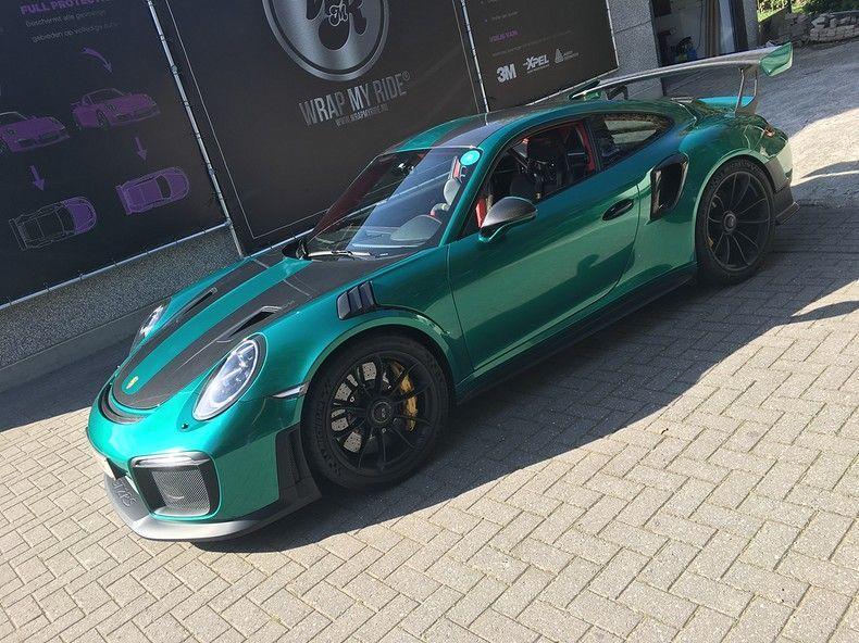 Porsche 911 GT2RS ASW Dark Grey Pearl, Carwrapping door Wrapmyride.nu Foto-nr:12211, ©2019