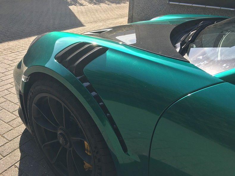 Porsche 911 GT2RS ASW Dark Grey Pearl, Carwrapping door Wrapmyride.nu Foto-nr:12210, ©2019