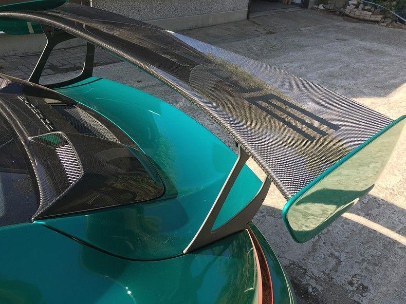Porsche 911 GT2RS ASW Dark Grey Pearl, Carwrapping door Wrapmyride.nu Foto-nr:12208, ©2019