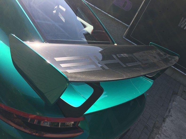 Porsche 911 GT2RS ASW Dark Grey Pearl, Carwrapping door Wrapmyride.nu Foto-nr:12207, ©2019