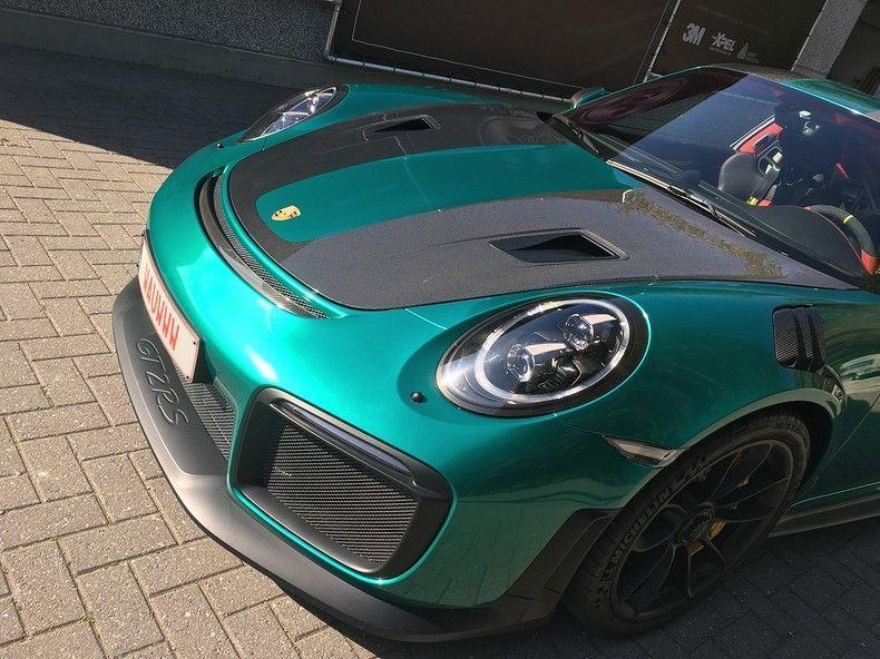 Porsche 911 GT2RS ASW Dark Grey Pearl, Carwrapping door Wrapmyride.nu Foto-nr:12203, ©2019