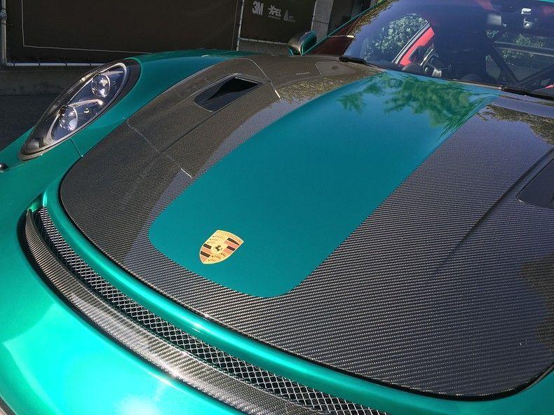Porsche 911 GT2RS ASW Dark Grey Pearl, Carwrapping door Wrapmyride.nu Foto-nr:12201, ©2019
