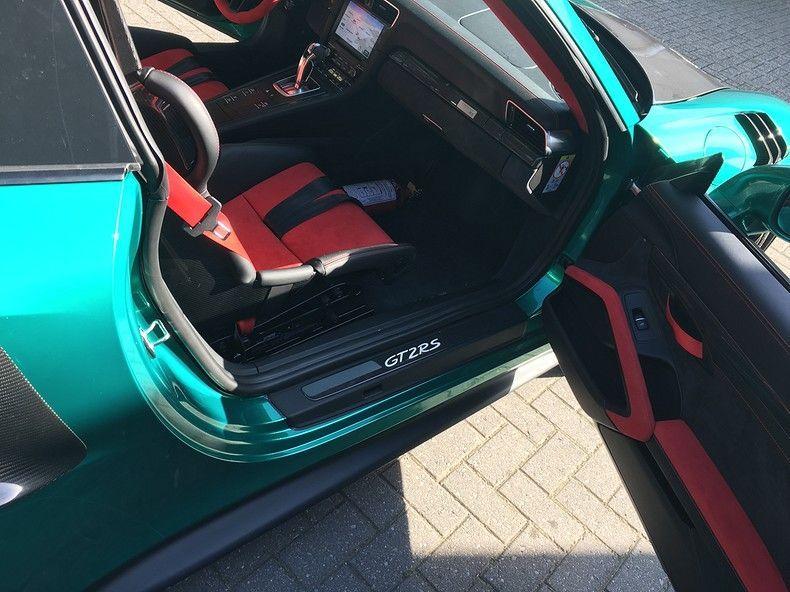 Porsche 911 GT2RS ASW Dark Grey Pearl, Carwrapping door Wrapmyride.nu Foto-nr:12196, ©2019
