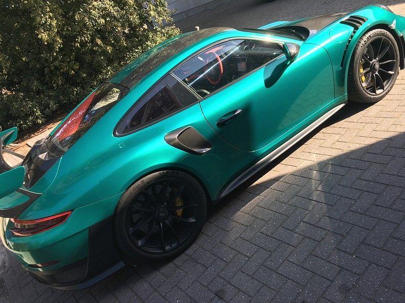 Porsche 911 GT2RS ASW Dark Grey Pearl, Carwrapping door Wrapmyride.nu Foto-nr:12195, ©2019