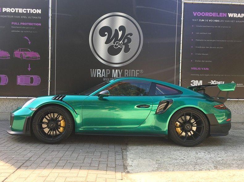 Porsche 911 GT2RS ASW Dark Grey Pearl, Carwrapping door Wrapmyride.nu Foto-nr:12193, ©2019