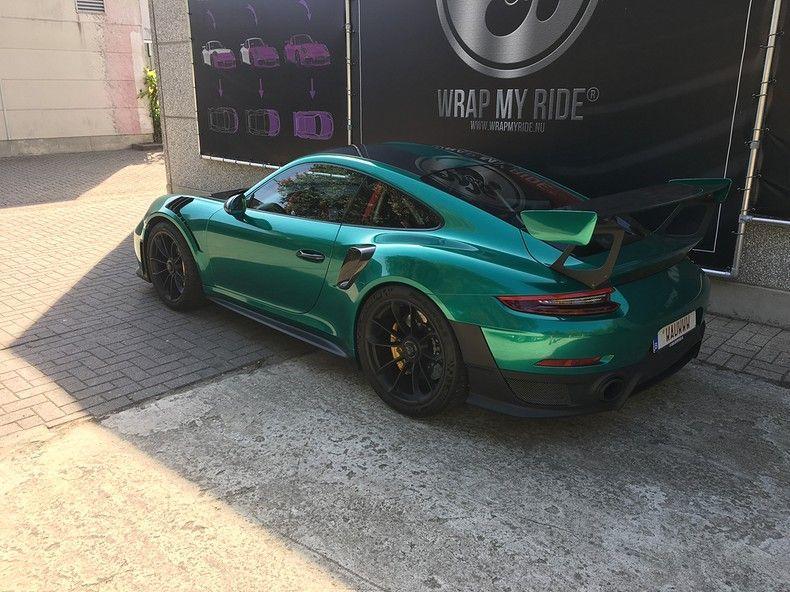 Porsche 911 GT2RS ASW Dark Grey Pearl, Carwrapping door Wrapmyride.nu Foto-nr:12192, ©2019