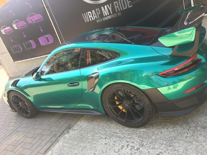 Porsche 911 GT2RS ASW Dark Grey Pearl, Carwrapping door Wrapmyride.nu Foto-nr:12191, ©2019