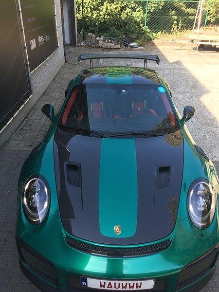 Porsche 911 GT2RS ASW Dark Grey Pearl, Carwrapping door Wrapmyride.nu Foto-nr:12179, ©2019