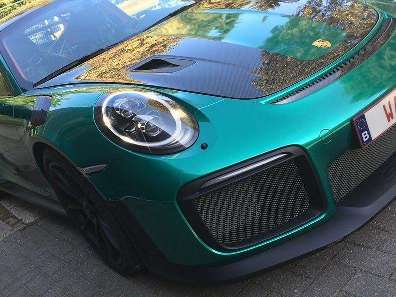Porsche 911 GT2RS ASW Dark Grey Pearl, Carwrapping door Wrapmyride.nu Foto-nr:12185, ©2019