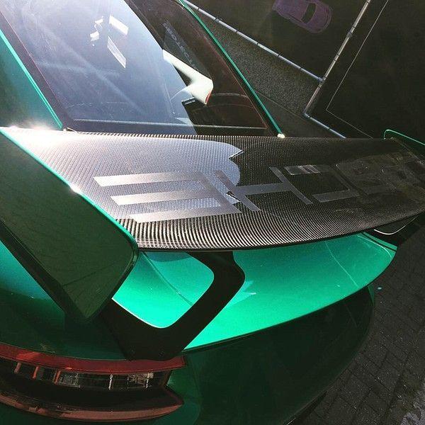 Porsche 911 GT2RS ASW Dark Grey Pearl, Carwrapping door Wrapmyride.nu Foto-nr:12184, ©2019