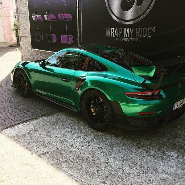 Porsche 911 GT2RS ASW Dark Grey Pearl, Carwrapping door Wrapmyride.nu Foto-nr:12181, ©2019