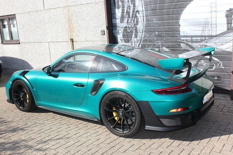 Porsche 911 GT2RS ASW Dark Grey Pearl, Carwrapping door Wrapmyride.nu Foto-nr:12223, ©2019