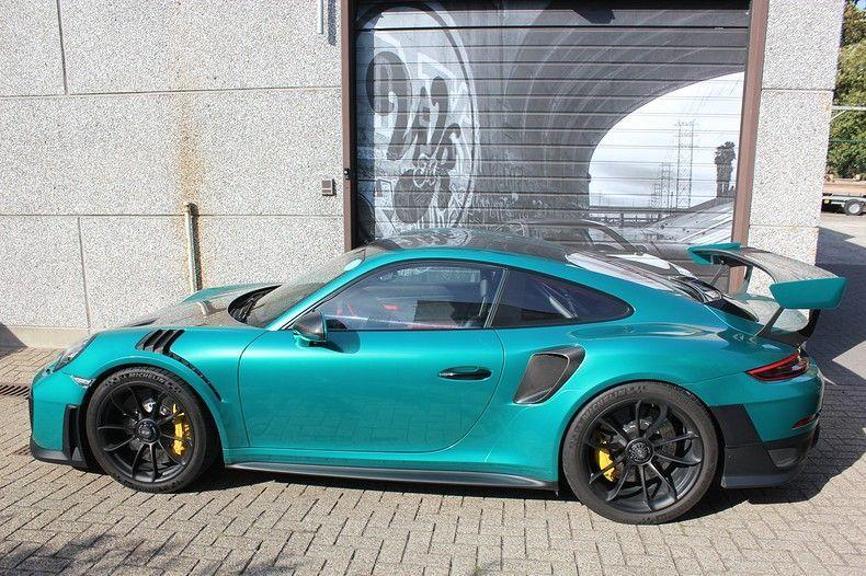 Porsche 911 GT2RS ASW Dark Grey Pearl, Carwrapping door Wrapmyride.nu Foto-nr:12222, ©2019