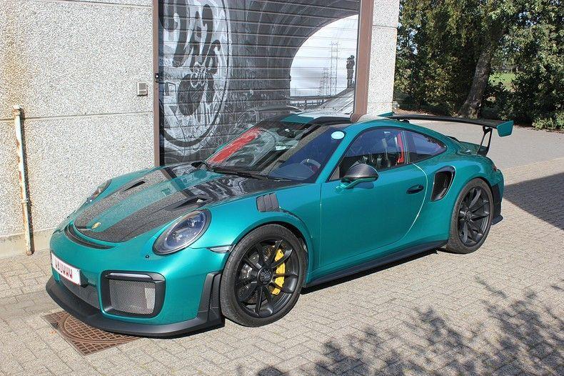 Porsche 911 GT2RS ASW Dark Grey Pearl, Carwrapping door Wrapmyride.nu Foto-nr:12221, ©2019