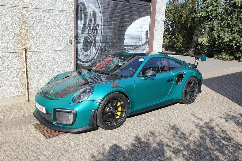 Porsche 911 GT2RS ASW Dark Grey Pearl, Carwrapping door Wrapmyride.nu Foto-nr:12220, ©2019