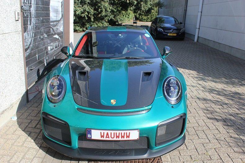 Porsche 911 GT2RS ASW Dark Grey Pearl, Carwrapping door Wrapmyride.nu Foto-nr:12219, ©2019