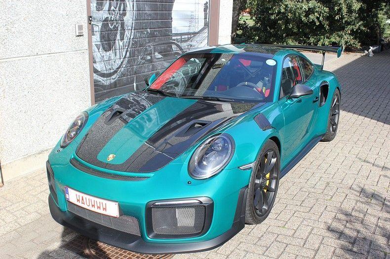 Porsche 911 GT2RS ASW Dark Grey Pearl, Carwrapping door Wrapmyride.nu Foto-nr:12218, ©2019