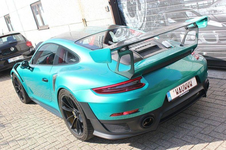 Porsche 911 GT2RS ASW Dark Grey Pearl, Carwrapping door Wrapmyride.nu Foto-nr:12217, ©2019
