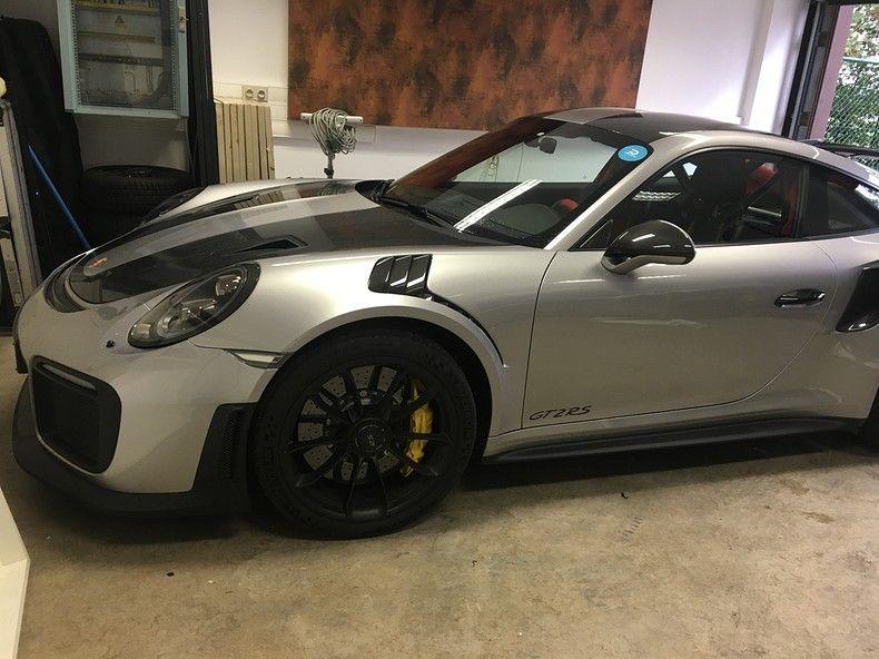 Porsche 911 GT2RS ASW Dark Grey Pearl, Carwrapping door Wrapmyride.nu Foto-nr:12259, ©2019