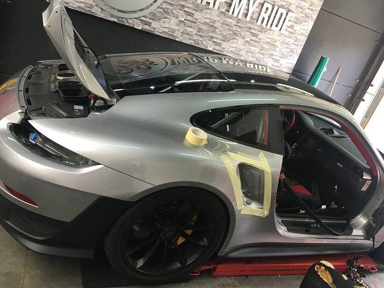 Porsche 911 GT2RS ASW Dark Grey Pearl, Carwrapping door Wrapmyride.nu Foto-nr:12256, ©2019