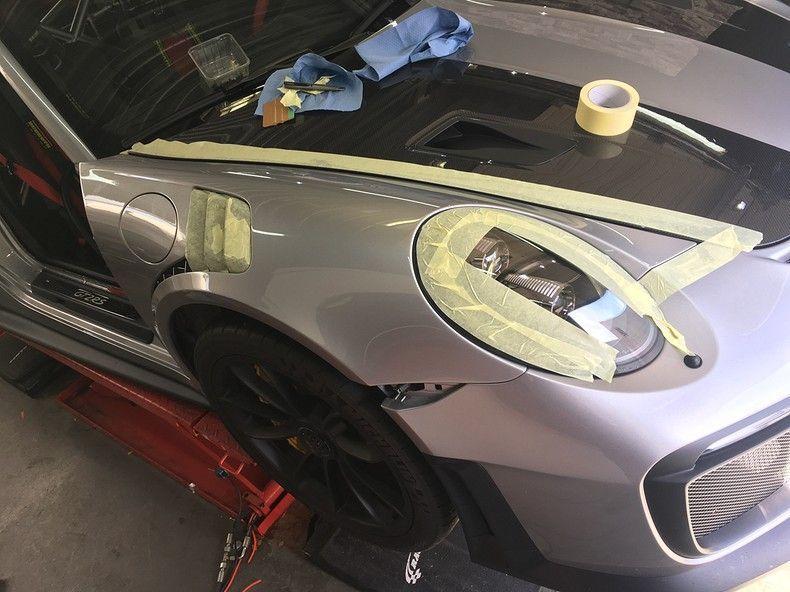 Porsche 911 GT2RS ASW Dark Grey Pearl, Carwrapping door Wrapmyride.nu Foto-nr:12254, ©2019