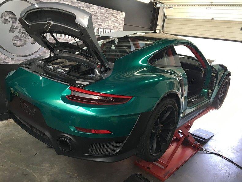Porsche 911 GT2RS ASW Dark Grey Pearl, Carwrapping door Wrapmyride.nu Foto-nr:12245, ©2019