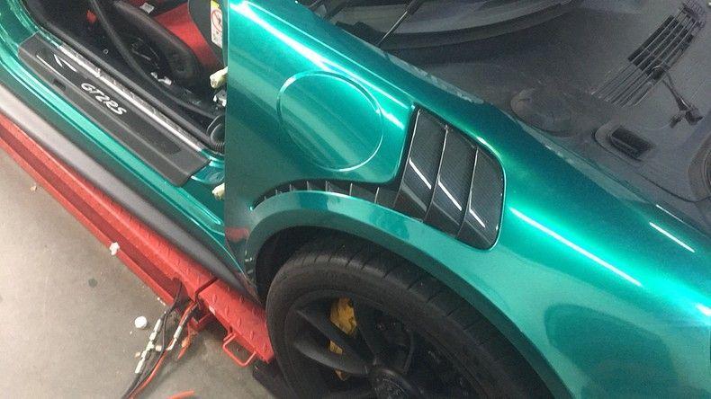 Porsche 911 GT2RS ASW Dark Grey Pearl, Carwrapping door Wrapmyride.nu Foto-nr:12240, ©2019