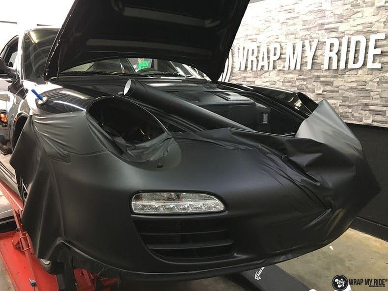 Porsche 911 RSR look, Carwrapping door Wrapmyride.nu Foto-nr:9790, ©2019