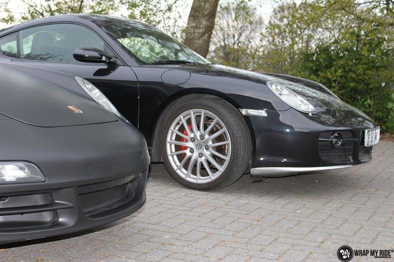 Porsche 997 mat zwart, Carwrapping door Wrapmyride.nu Foto-nr:9064, ©2021