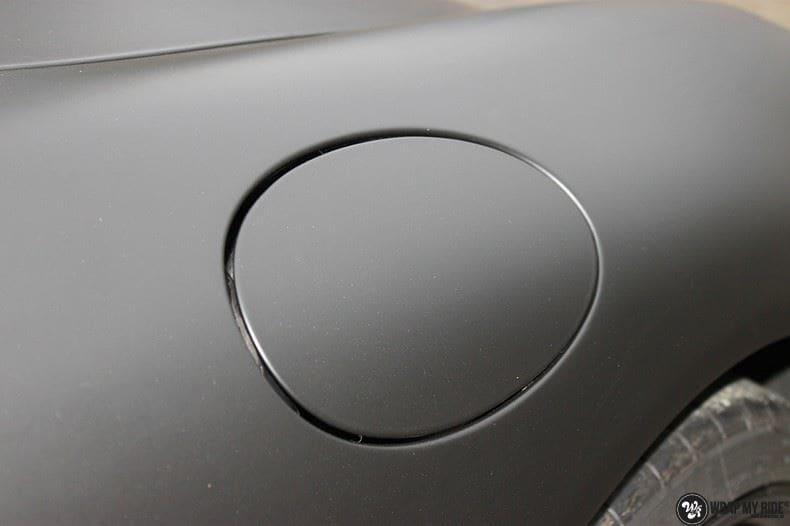 Porsche 997 mat zwart, Carwrapping door Wrapmyride.nu Foto-nr:9058, ©2021