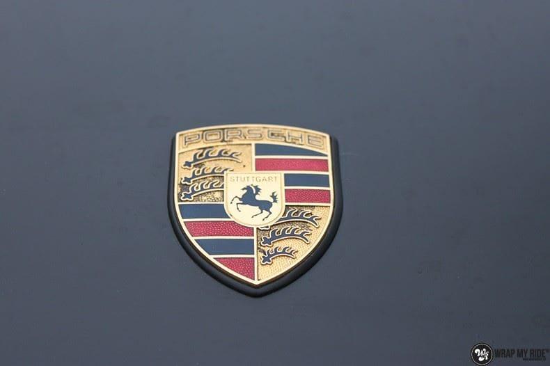 Porsche 997 mat zwart, Carwrapping door Wrapmyride.nu Foto-nr:9056, ©2020