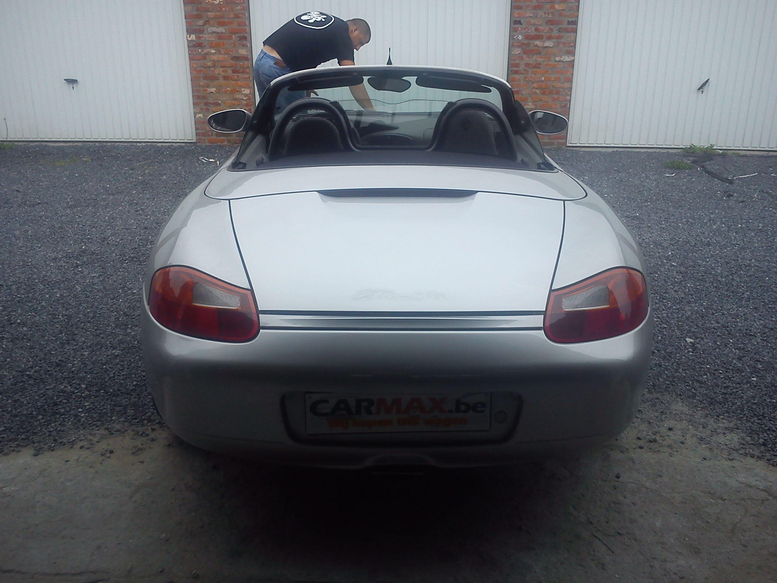 Porsche Boxter met Gunpowder Wrap, Carwrapping door Wrapmyride.nu Foto-nr:6719, ©2020