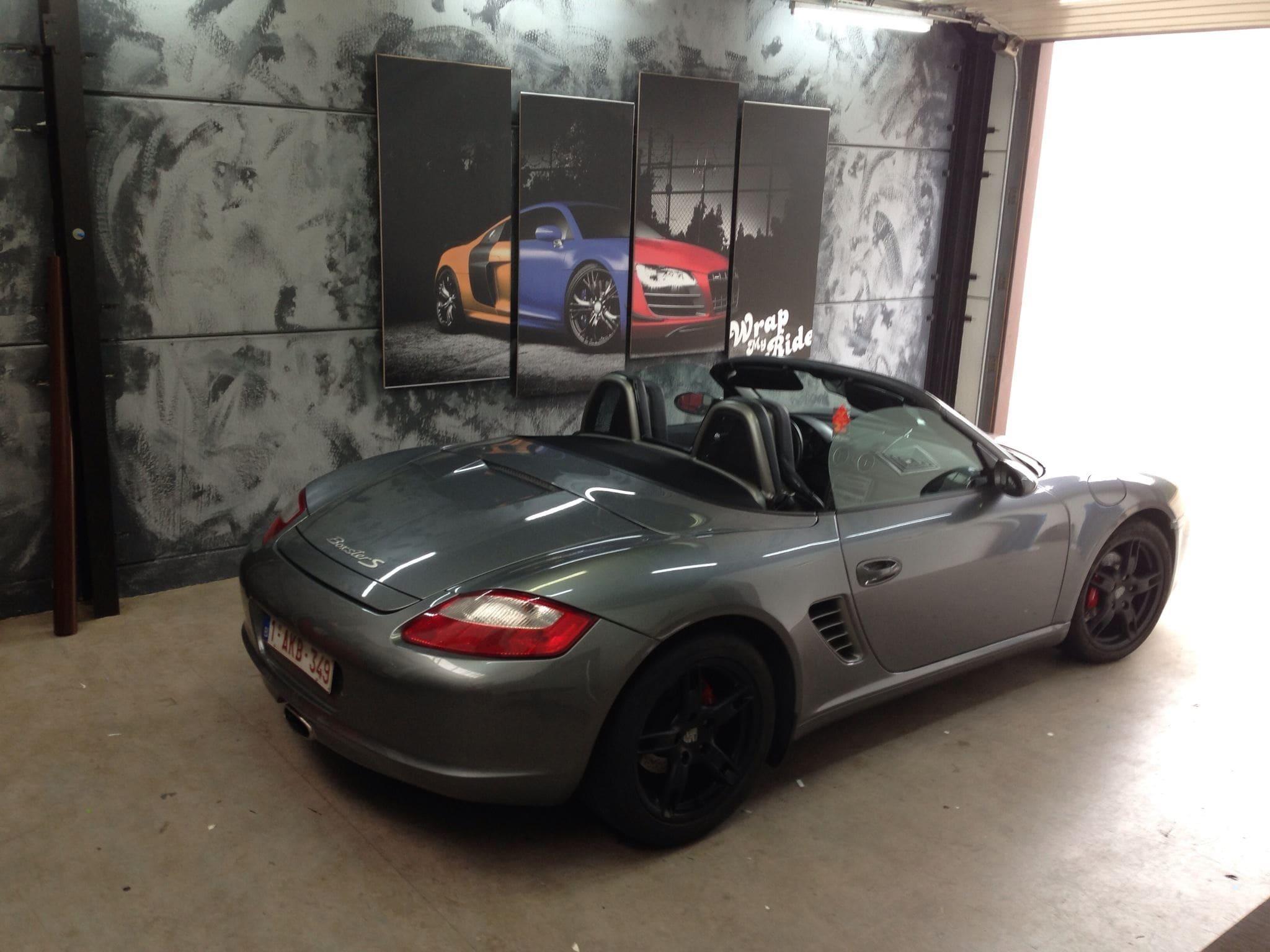 Porsche Boxter met Pearl Orange Wrap, Carwrapping door Wrapmyride.nu Foto-nr:6704, ©2020