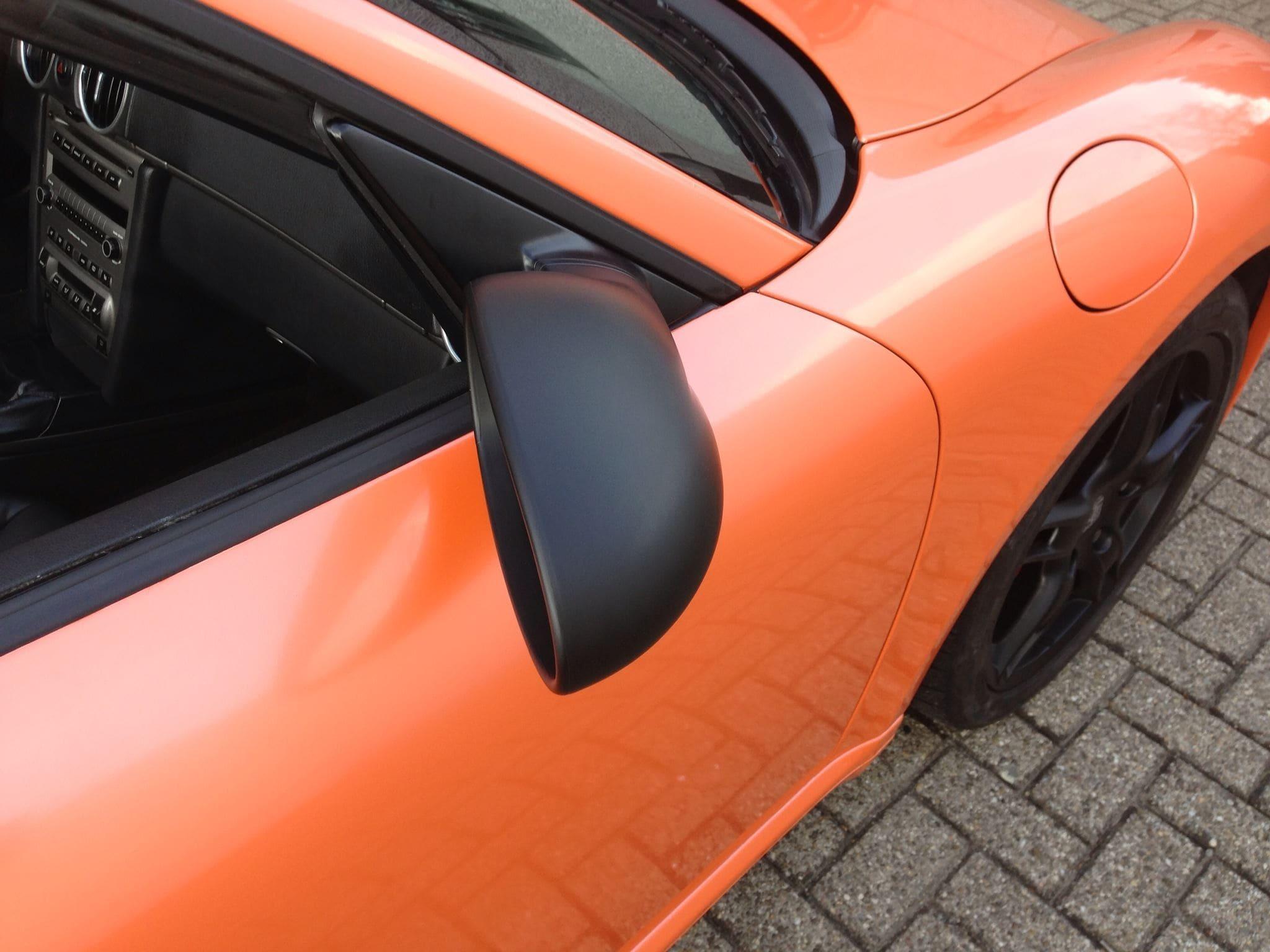Porsche Boxter met Pearl Orange Wrap, Carwrapping door Wrapmyride.nu Foto-nr:6710, ©2021