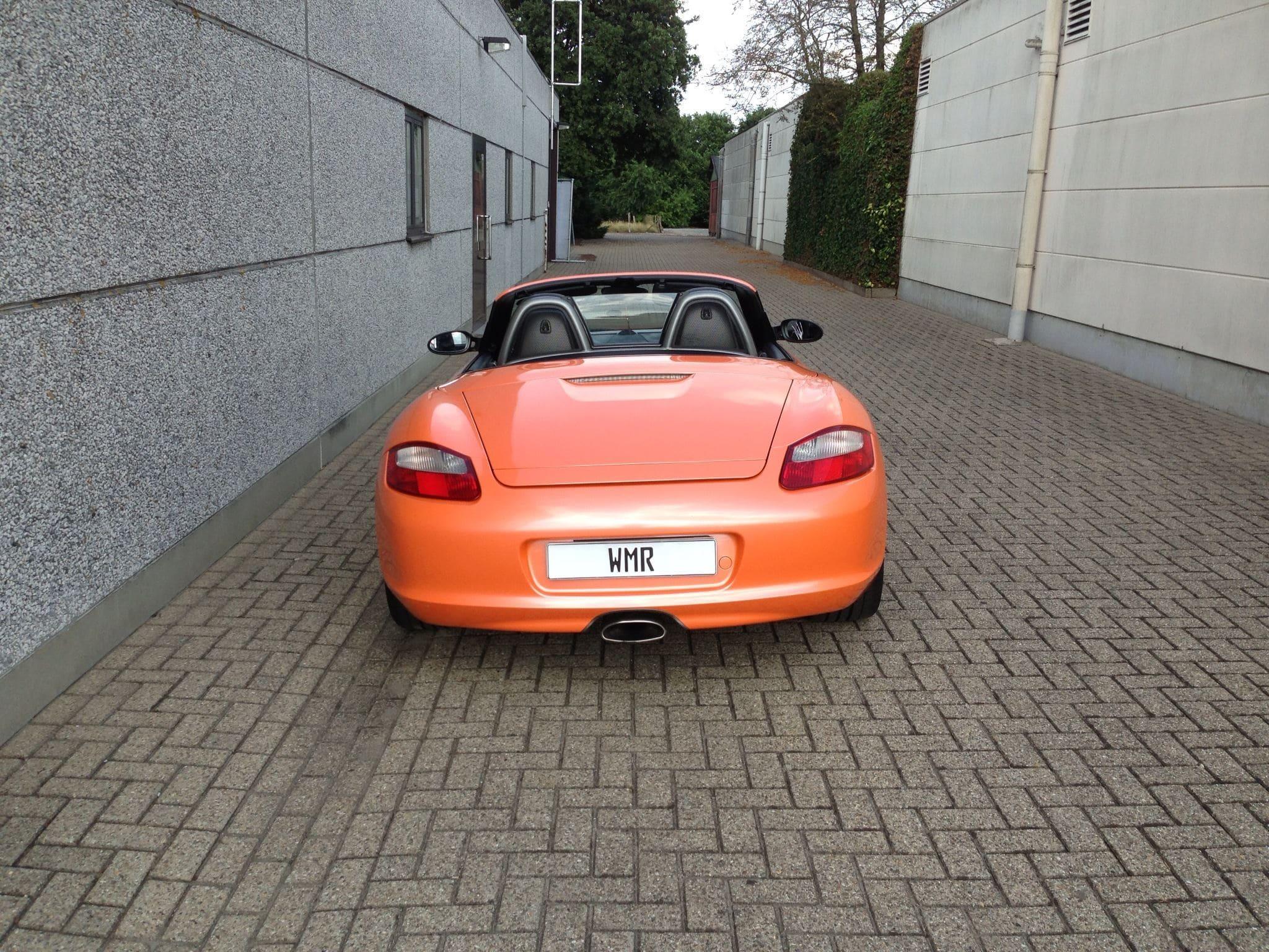 Porsche Boxter met Pearl Orange Wrap, Carwrapping door Wrapmyride.nu Foto-nr:6712, ©2021