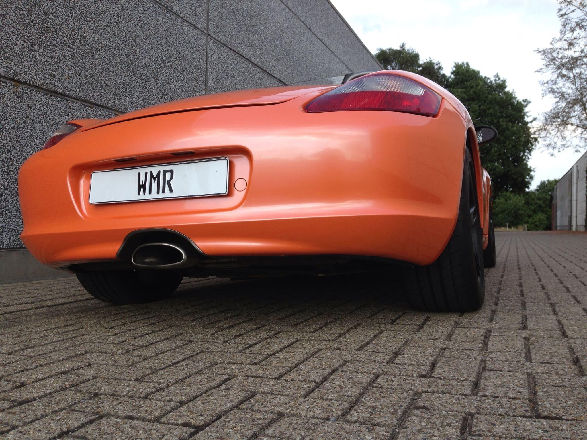 Porsche Boxter met Pearl Orange Wrap, Carwrapping door Wrapmyride.nu Foto-nr:6715, ©2020