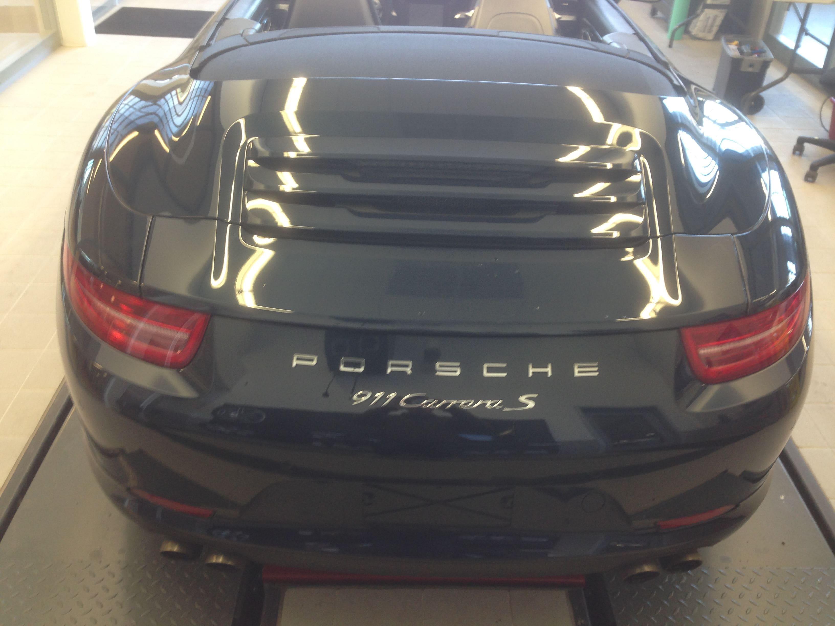 Porsche Carrera Turbo S Cabrio met Mint Green Wrap, Carwrapping door Wrapmyride.nu Foto-nr:6729, ©2021