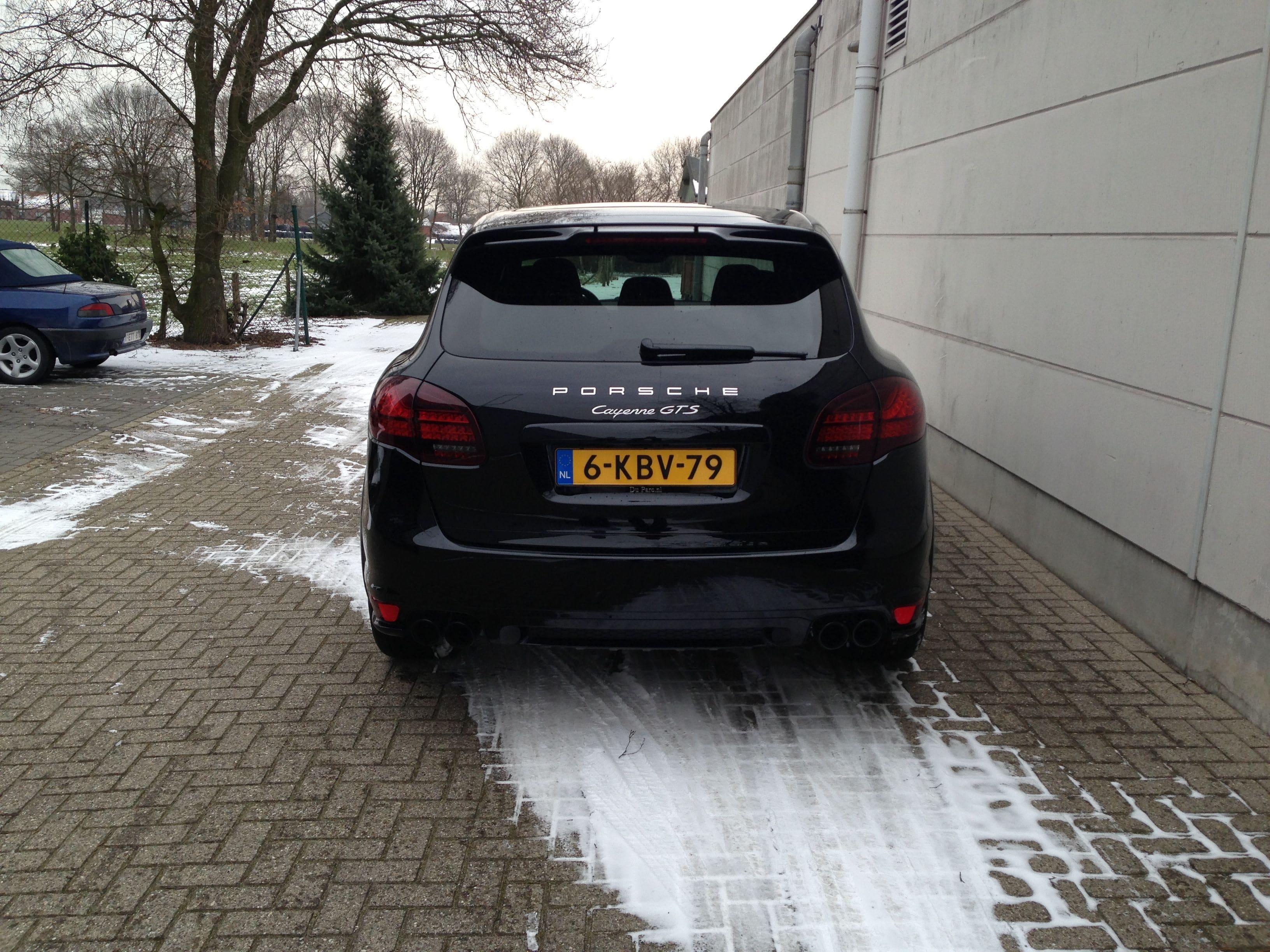 Porsche Cayenne GTS met Gunpowder Wrap, Carwrapping door Wrapmyride.nu Foto-nr:6757, ©2021