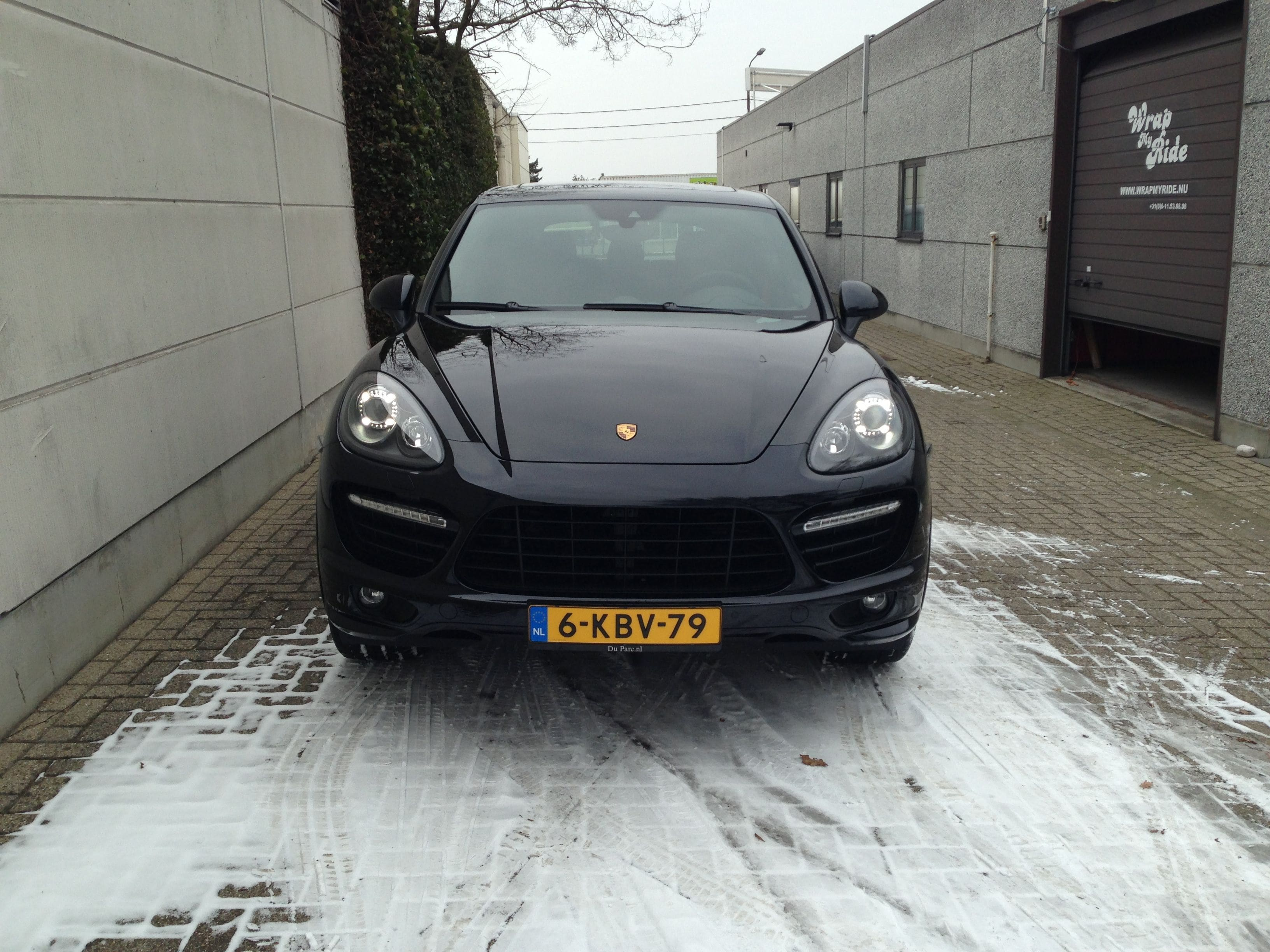 Porsche Cayenne GTS met Gunpowder Wrap, Carwrapping door Wrapmyride.nu Foto-nr:6759, ©2021