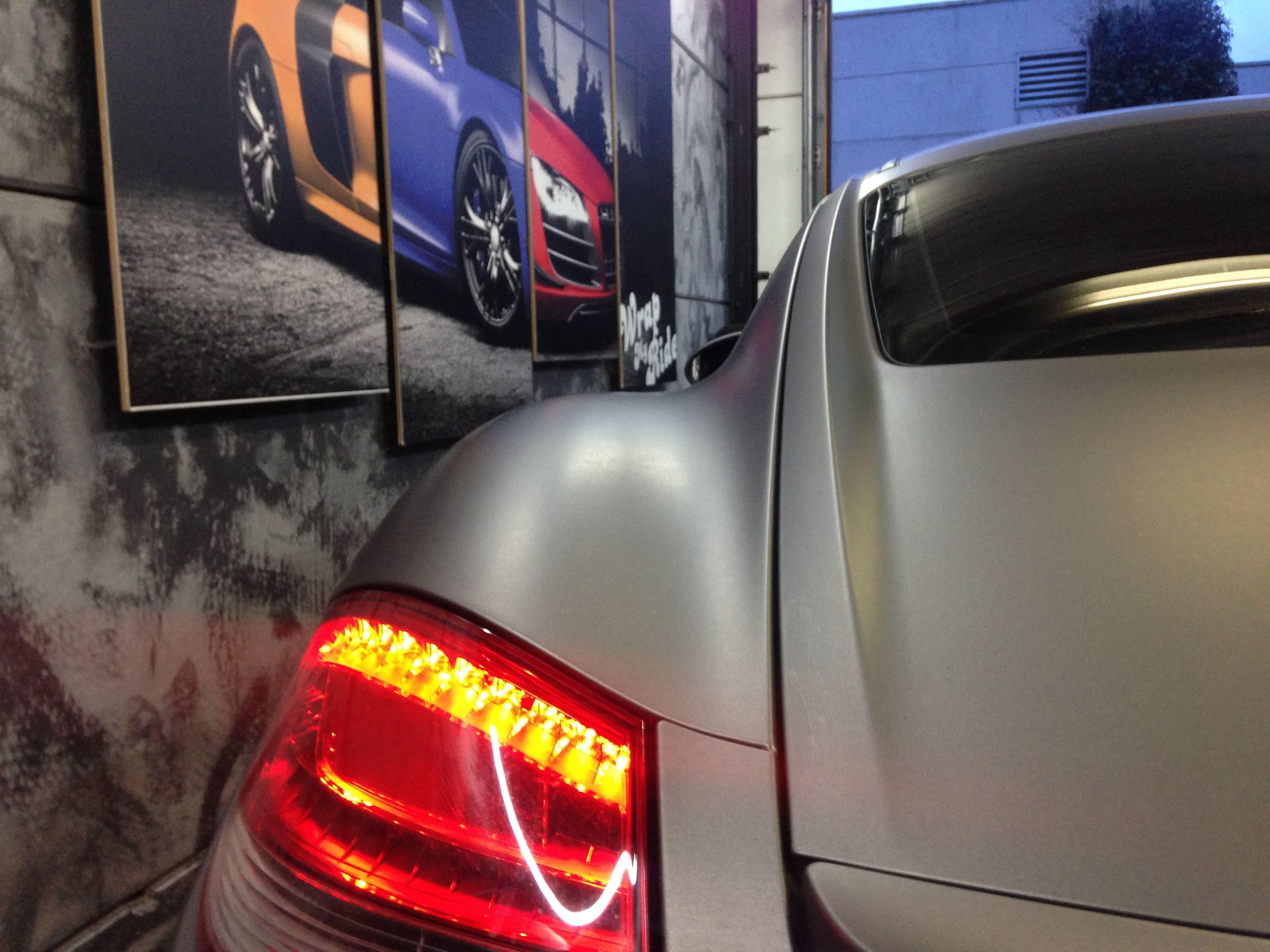 Porsche Cayman met Mat Charcoal Matte Wrap, Carwrapping door Wrapmyride.nu Foto-nr:7097, ©2021