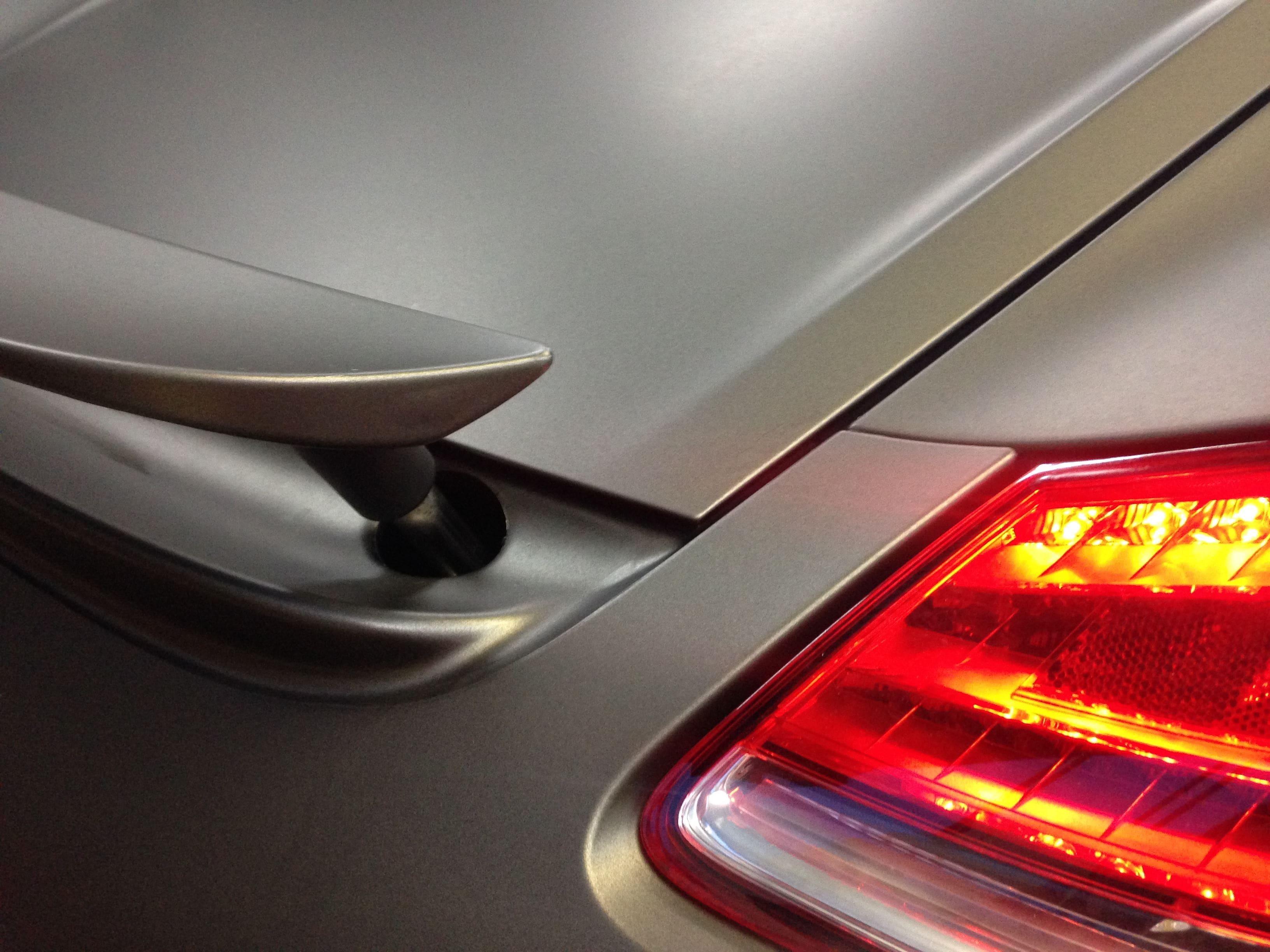 Porsche Cayman met Mat Charcoal Matte Wrap, Carwrapping door Wrapmyride.nu Foto-nr:7100, ©2021