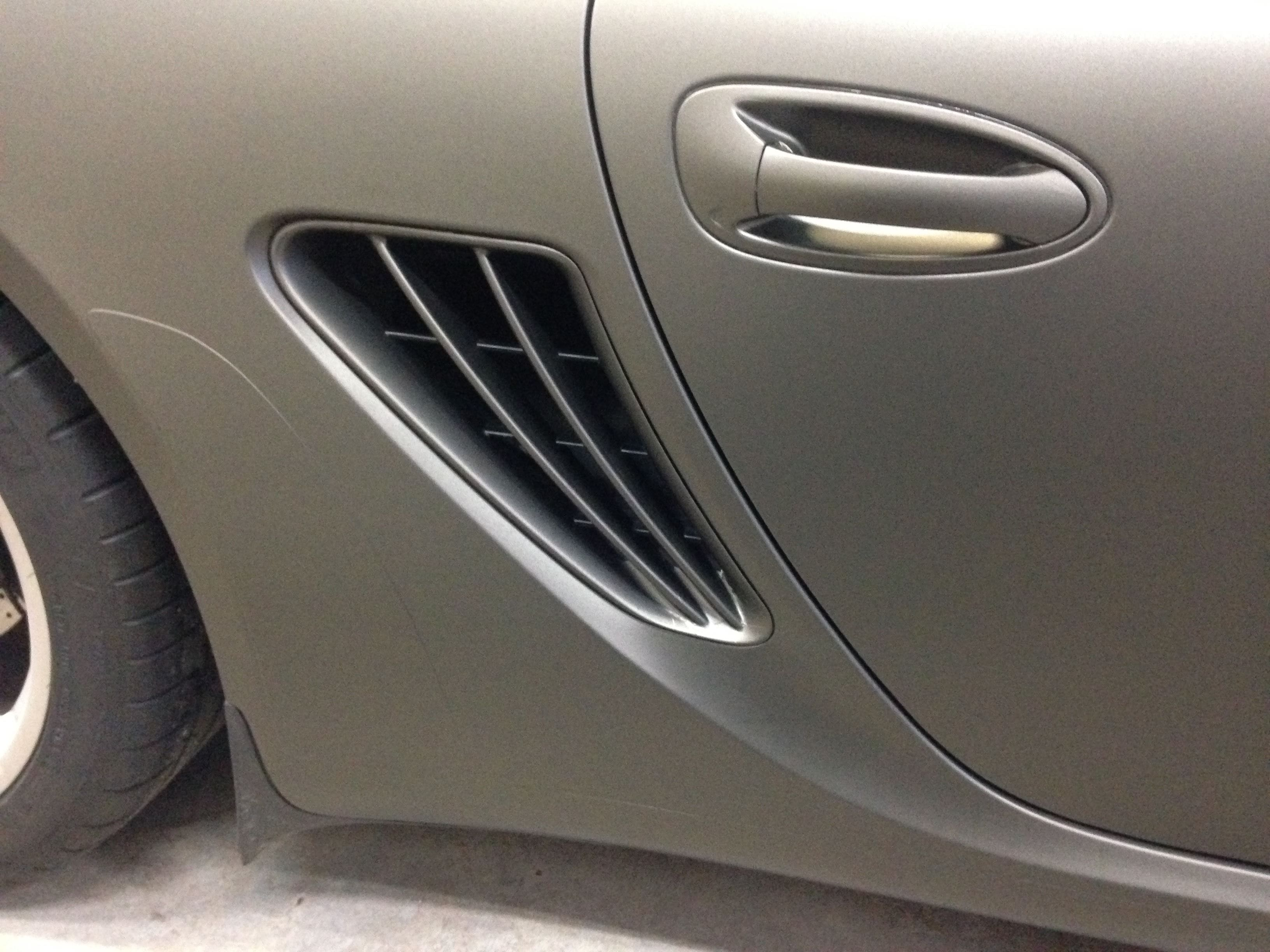 Porsche Cayman met Mat Charcoal Matte Wrap, Carwrapping door Wrapmyride.nu Foto-nr:7101, ©2021