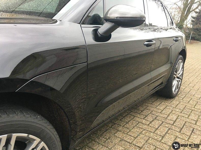 Porsche Macan Carbon accenten, Carwrapping door Wrapmyride.nu Foto-nr:10812, ©2021